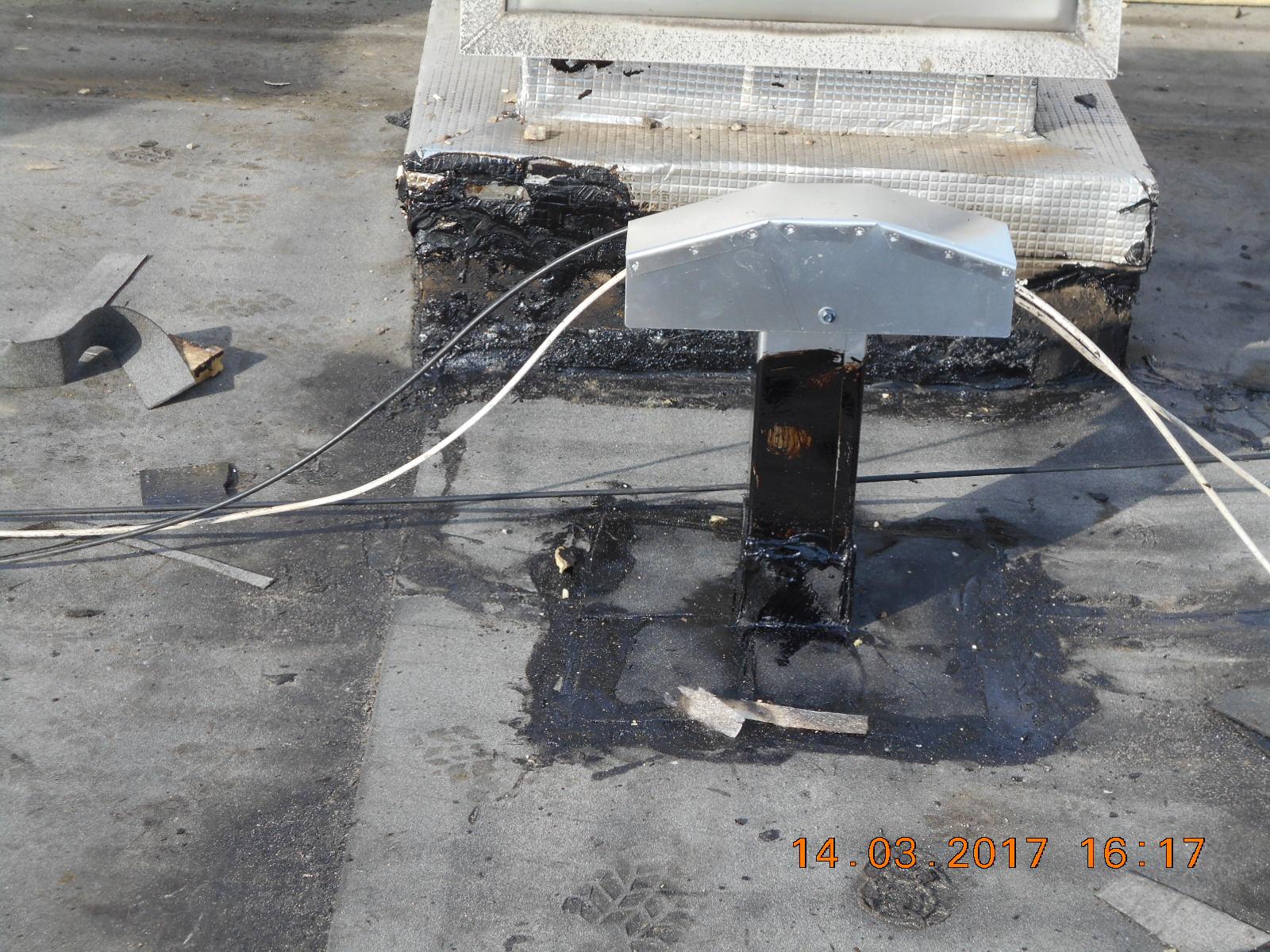R fection compl te de l 39 tanch it de la terrasse for Mise en place pare vapeur
